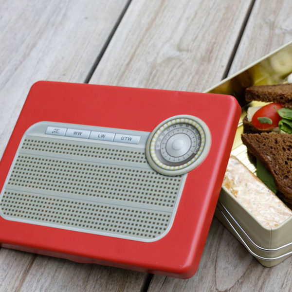 Radio Tv Lunchbox